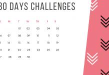 Whole-30 challenge idea 2019