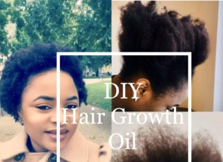 DIY Hair growth oil by BOON HEALTH AND BEAUTY