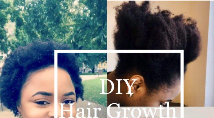 DIY Hair growth oil by BOON HEALTH AND BEAUTY