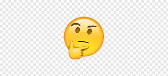 Thinking face emoji png | PNGBarn